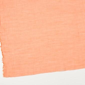 コットン&シルク混×チェック(オレンジ)×オーガンジー・ワッシャー_全2色 サムネイル2