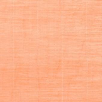 コットン&シルク混×チェック(オレンジ)×オーガンジー・ワッシャー_全2色 サムネイル1