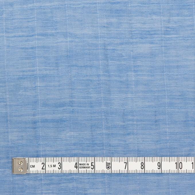 コットン&シルク混×チェック(ヒヤシンス)×オーガンジー・ワッシャー_全2色 イメージ4