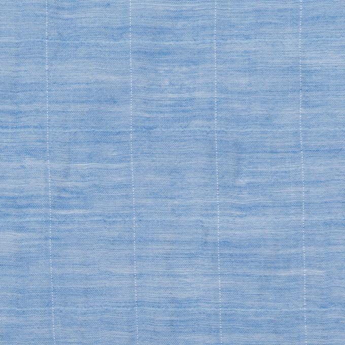 コットン&シルク混×チェック(ヒヤシンス)×オーガンジー・ワッシャー_全2色 イメージ1