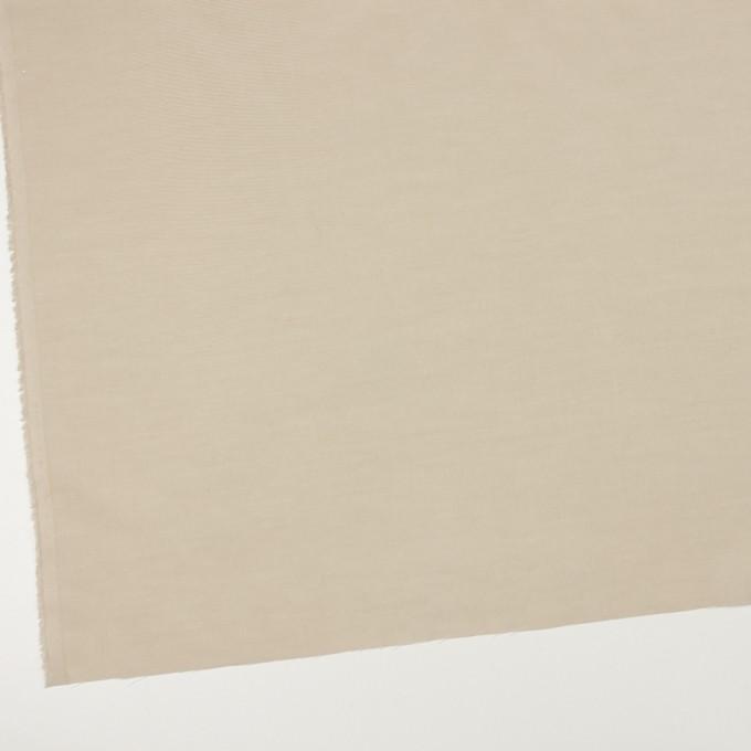 コットン&シルク×無地(カーキベージュ)×ボイル_全2色 イメージ2