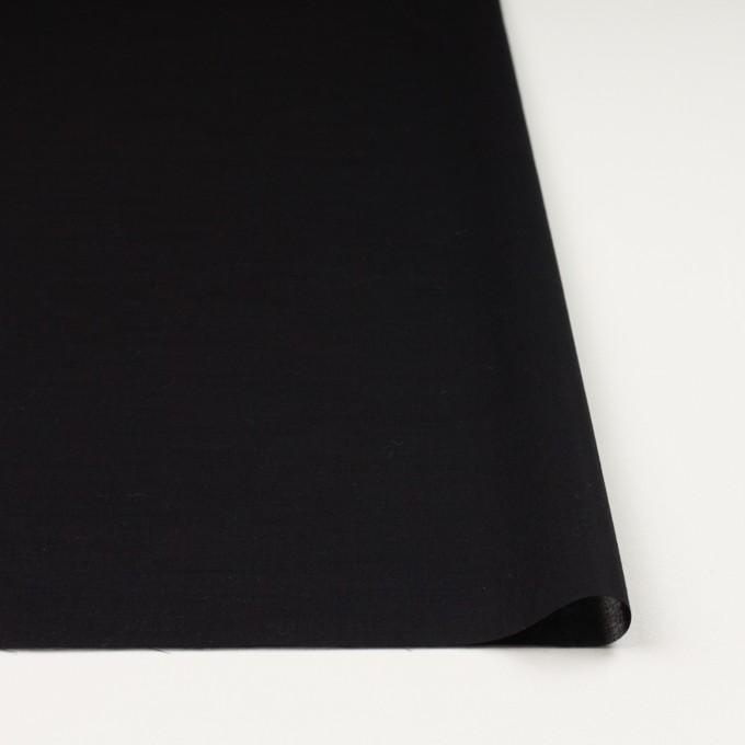 コットン&シルク×無地(ブラック)×ボイル_全2色 イメージ3