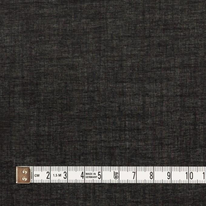 コットン&シルク×無地(ブラック)×ボイル_全2色 イメージ4