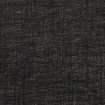 コットン&シルク×無地(ブラック)×ボイル_全2色 サムネイル1