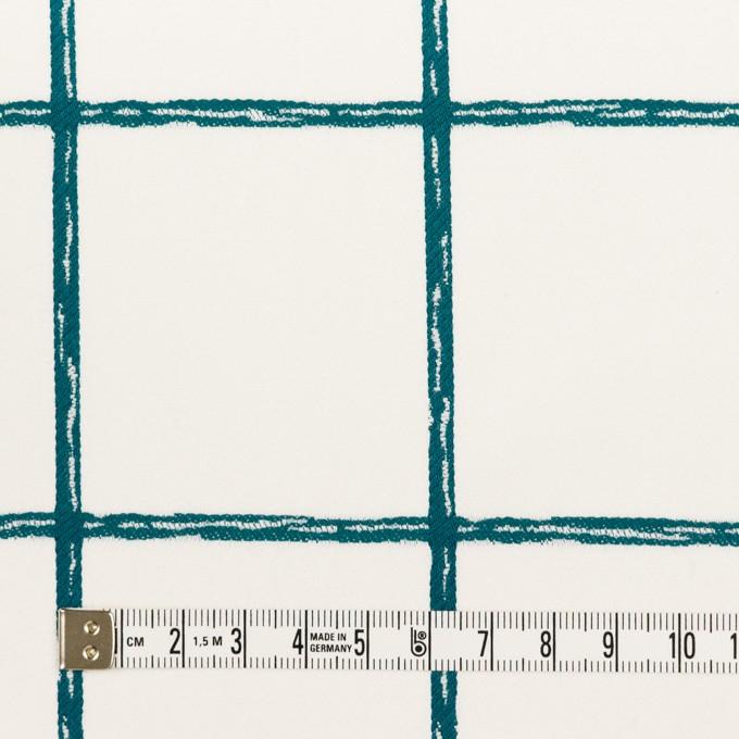コットン&ポリウレタン×チェック(バルビゾン)×サテンストレッチ イメージ4