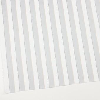 コットン×ストライプ(ライトグレー&ベージュ)×ブロードジャガード サムネイル2