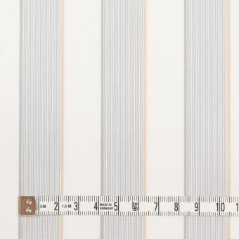 コットン×ストライプ(ライトグレー&ベージュ)×ブロードジャガード サムネイル4