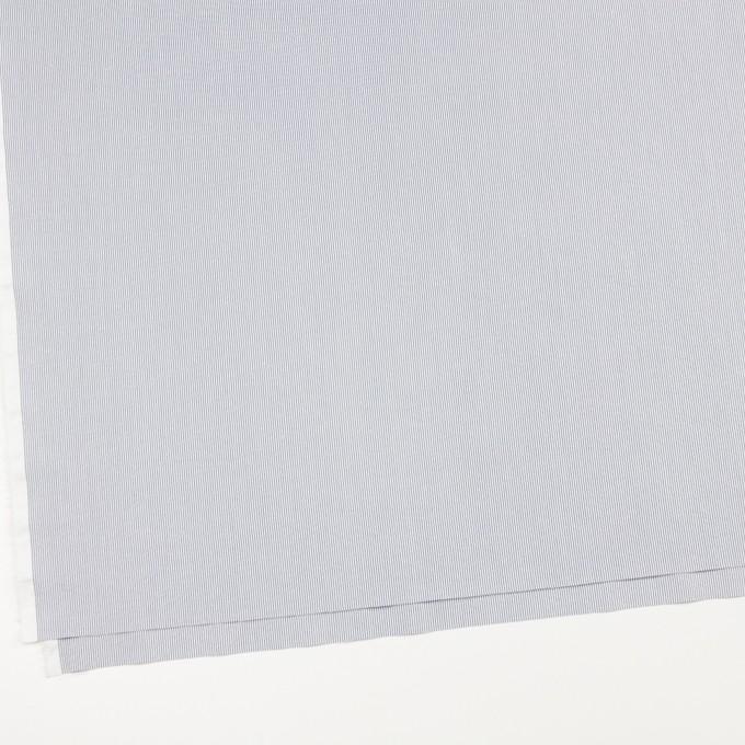 コットン&ポリエステル混×ストライプ(アッシュネイビー)×コードレーン・ストレッチ イメージ2