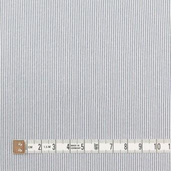 コットン&ポリエステル混×ストライプ(アッシュネイビー)×コードレーン・ストレッチ サムネイル4