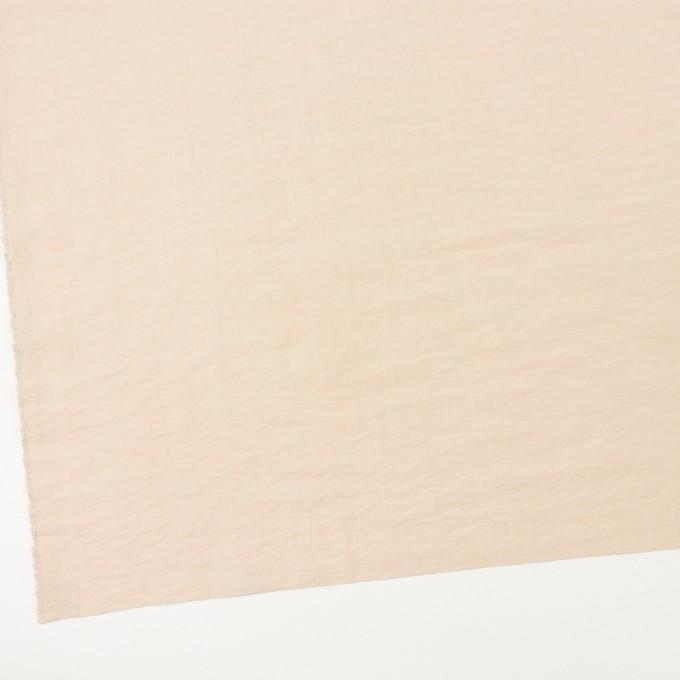 コットン&ナイロン×無地(キナリ)×オーガンジー・ワッシャー イメージ2