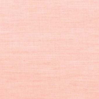 コットン×無地(ピーチ)×シャンブレー_全3色 サムネイル1