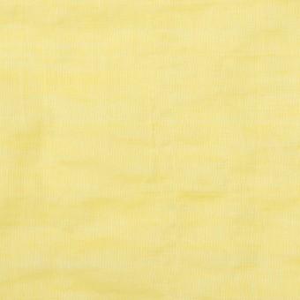 コットン&ポリウレタン×無地(レモンイエロー)×シャンブレー・シャーリング サムネイル1