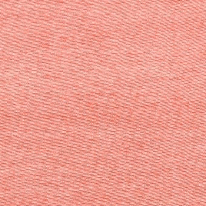 コットン&レーヨン×無地(トマト)×シャンブレー イメージ1
