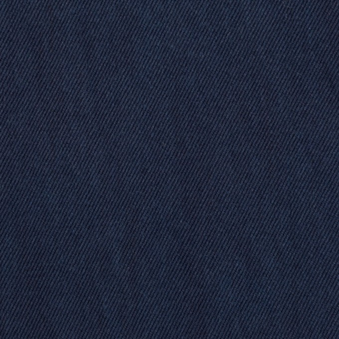 コットン×無地(ダークネイビー)×チノクロス・ワッシャー イメージ1