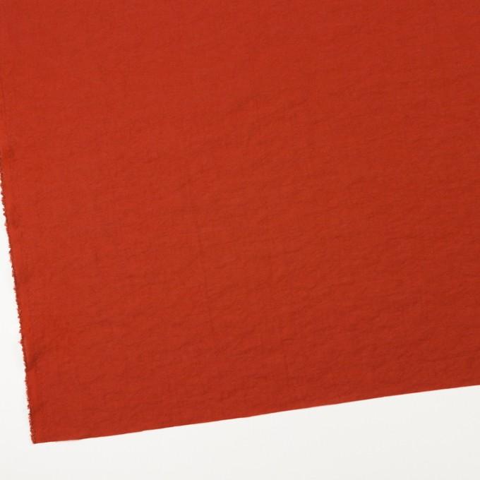 レーヨン&ナイロン混×無地(ケチャップ)×オーガンジー・ワッシャー イメージ2