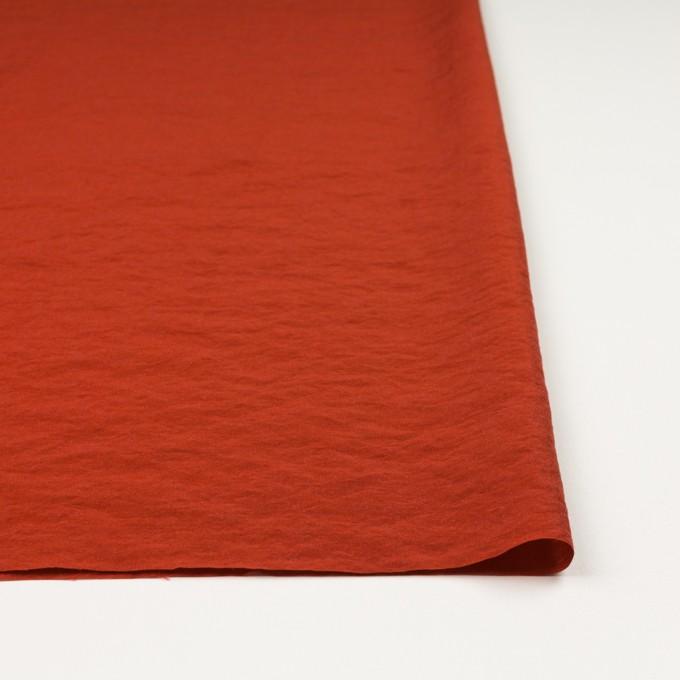 レーヨン&ナイロン混×無地(ケチャップ)×オーガンジー・ワッシャー イメージ3