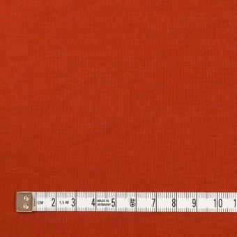 レーヨン&ナイロン混×無地(ケチャップ)×オーガンジー・ワッシャー サムネイル4