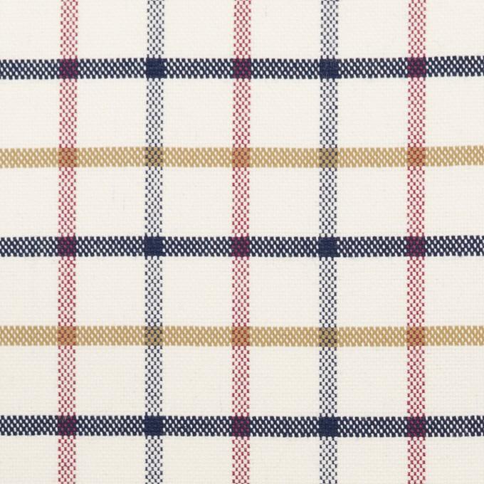 コットン×チェック(クリーム)×オックスフォード_全2色 イメージ1