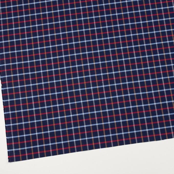 コットン×チェック(ネイビー)×オックスフォード_全2色 イメージ2