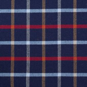 コットン×チェック(ネイビー)×オックスフォード_全2色 サムネイル1