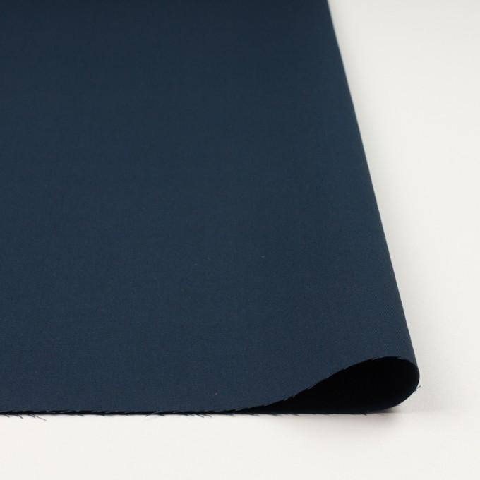 コットン×無地(アッシュネイビー)×二重織_イタリア製 イメージ3