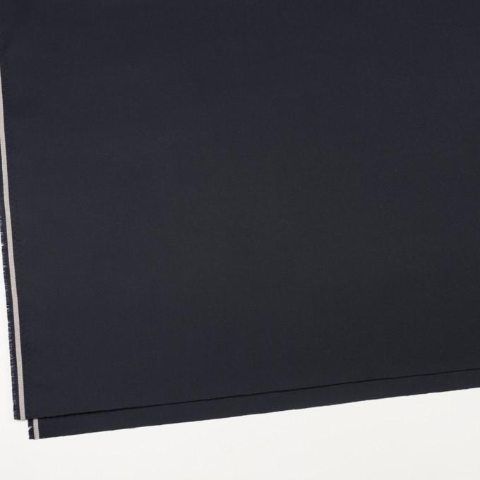 コットン×無地(ダークネイビー)×ギャバジン イメージ2