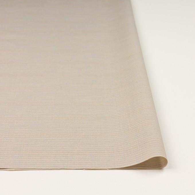 コットン×ボーダー(ベージュ&サックス)×ボイル イメージ3