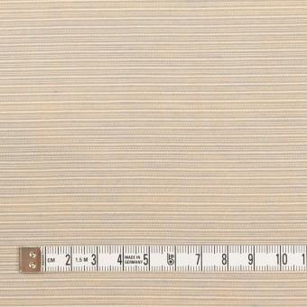 コットン×ボーダー(ベージュ&サックス)×ボイル サムネイル4
