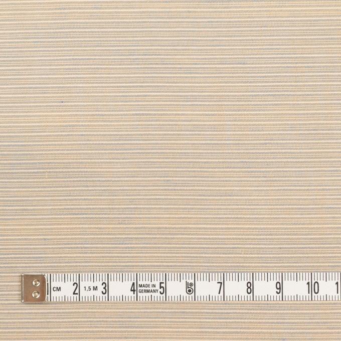 コットン×ボーダー(ベージュ&サックス)×ボイル イメージ4