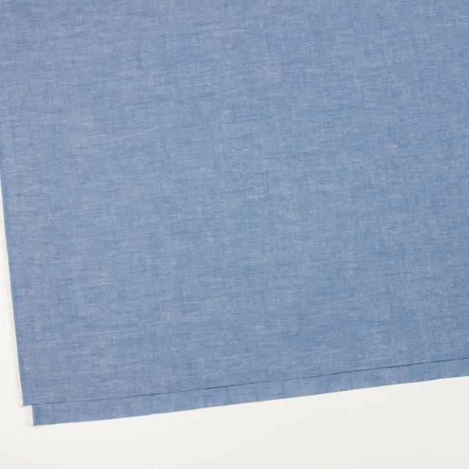コットン×無地(ブルー)×ダンガリー イメージ2