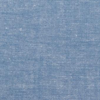 コットン×無地(ブルー)×ダンガリー サムネイル1