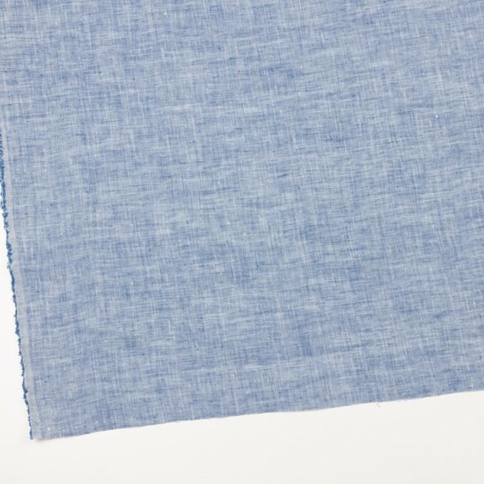 リネン×無地(ブルー)×薄キャンバス・ワッシャー イメージ2