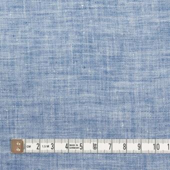 リネン×無地(ブルー)×薄キャンバス・ワッシャー サムネイル4