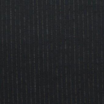コットン×ストライプ(ブラック)×ブロード_全2色 サムネイル1