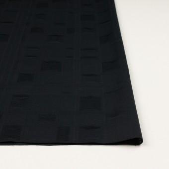 コットン×チェック(ブラック)×二重織ジャガード サムネイル3