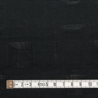 コットン×チェック(ブラック)×二重織ジャガード サムネイル4