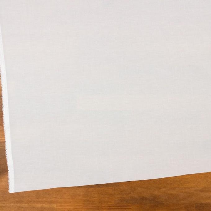 コットン×無地(ホワイト)×ボイル イメージ2