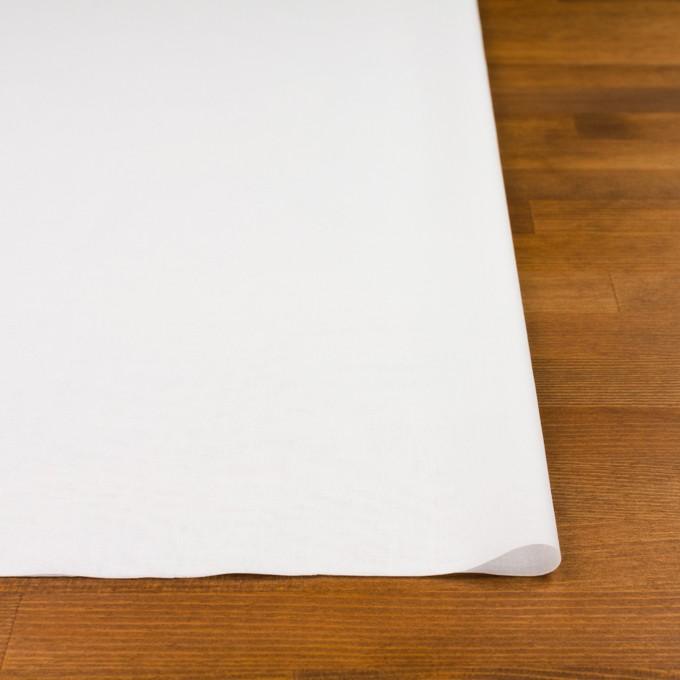 コットン×無地(ホワイト)×ボイル イメージ3