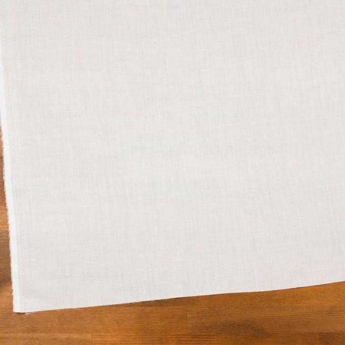 コットン×無地(オフホワイト)×ボイル イメージ2