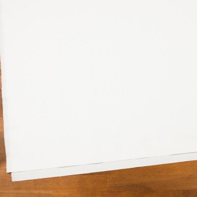 コットン&ポリアミド×無地(オフホワイト)×サージワッシャー_イタリア製 イメージ2
