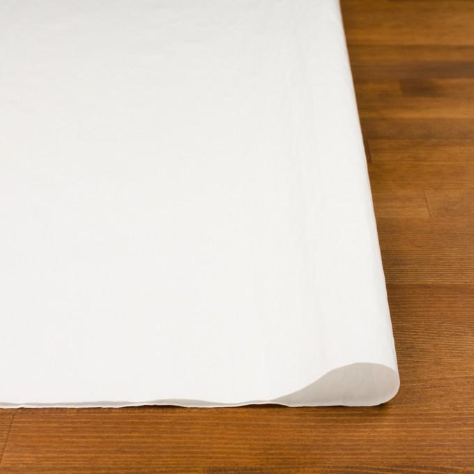 コットン&ポリアミド×無地(オフホワイト)×サージワッシャー_イタリア製 イメージ3