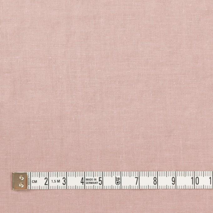 リネン&コットン×無地(グレイッシュピンク)×シーチング_全36色 イメージ4