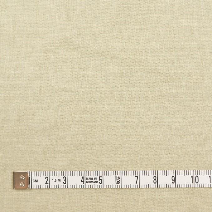 リネン&コットン×無地(アトモスグリーン)×シーチング_全36色 イメージ4