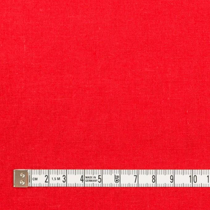 リネン&コットン×無地(パッションレッド)×シーチング_全36色 イメージ4