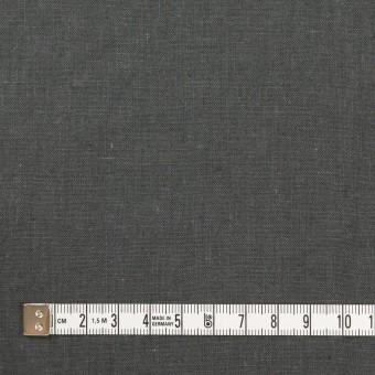 リネン&コットン×無地(チャコールグレー)×シーチング_全36色 サムネイル4