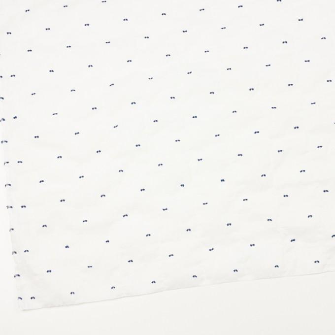 コットン&ポリウレタン×ドット(ネイビー)×ボイルシャーリング・カットジャガード_全4色 イメージ2
