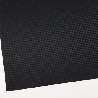 コットン&シルク×水玉(ブラック)×サテンジャガード サムネイル2