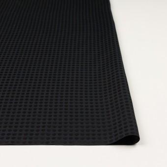 コットン&シルク×水玉(ブラック)×サテンジャガード サムネイル3