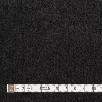 コットン&ポリエステル×無地(ブラック)×サージ サムネイル4