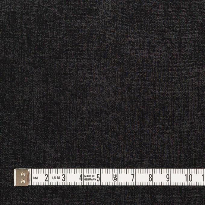 コットン&ポリエステル×無地(ブラック)×サージ イメージ4